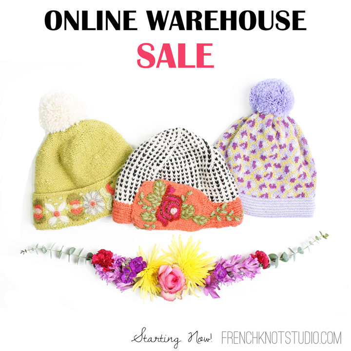 French Knot Online Warehouse Sale