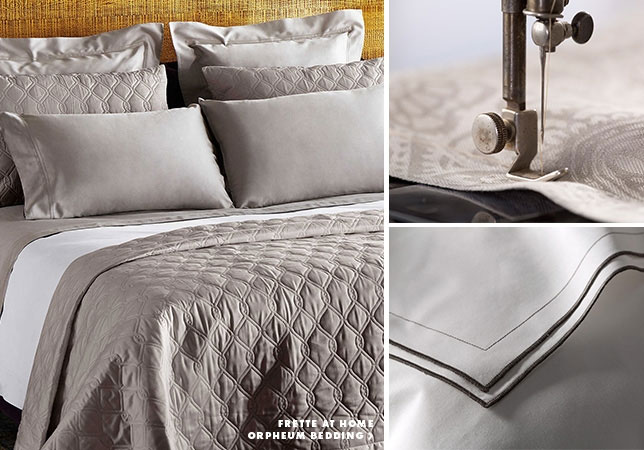 FRETTE Luxury Linen Sample Sale