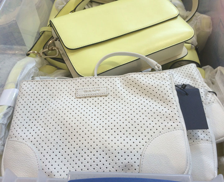 Gant Sample Sale Small leather bags for $50
