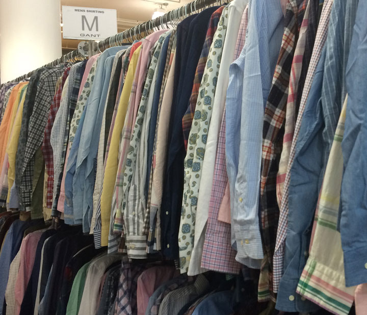 Gant Sample Sale Men's shirts for $45