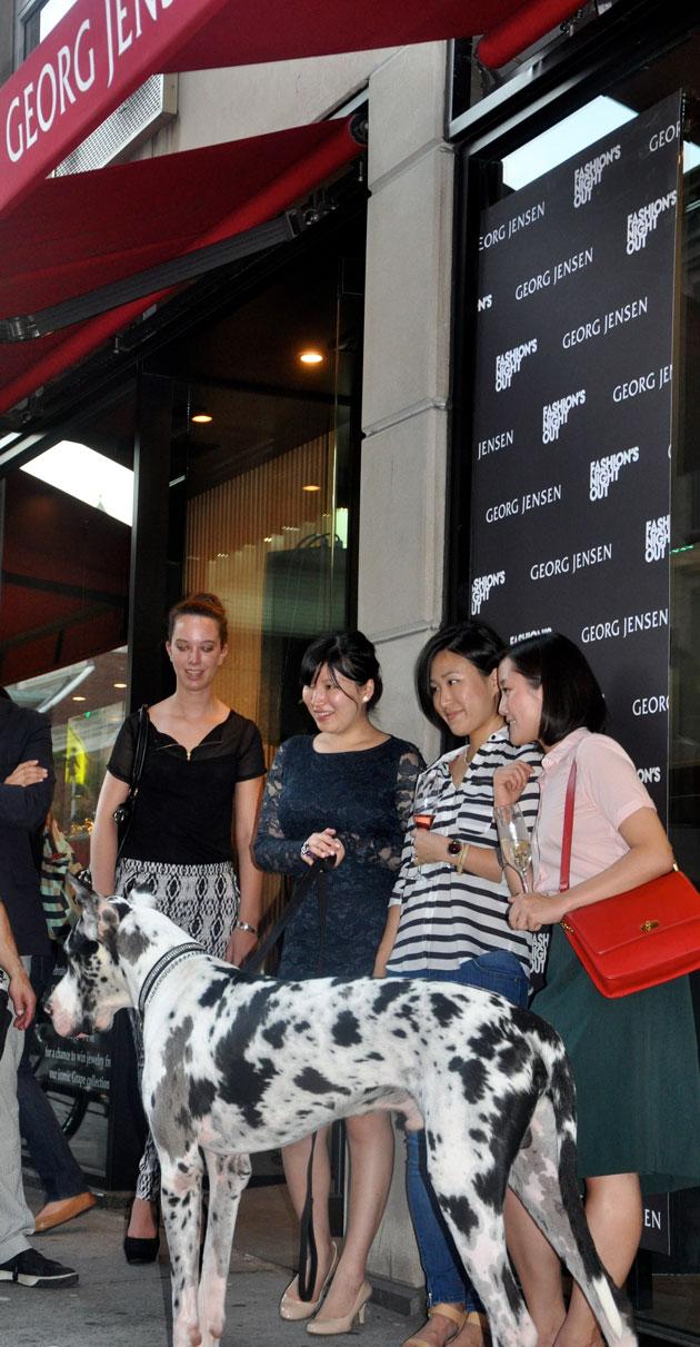 GEORG JENG Fashion's Night Out 2012