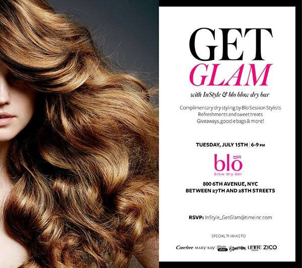 Get Glam with InStyle & Blo Blow Dry Bar
