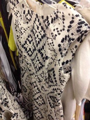 Giambattista Valli Black and White Dress ($589, orig. $2,340)