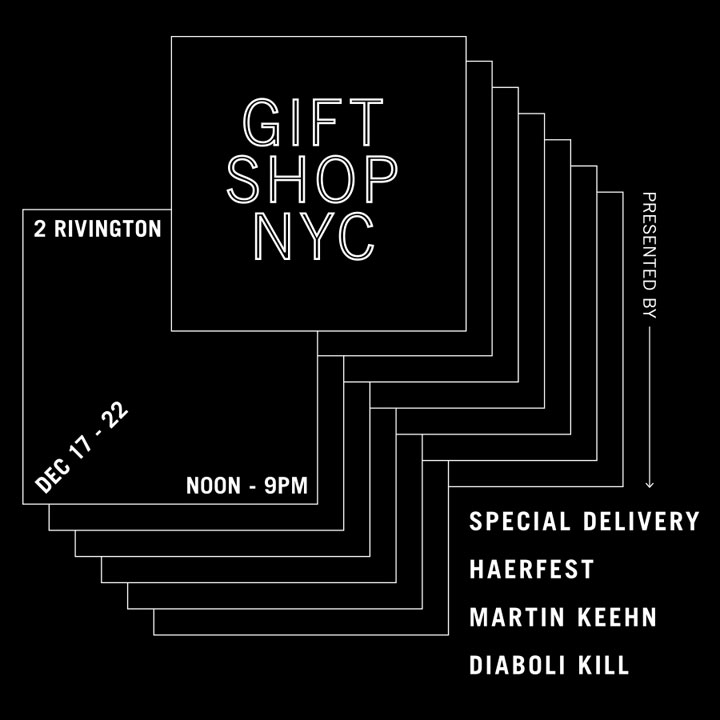 Gift Shop NYC Holiday Pop-up Shop