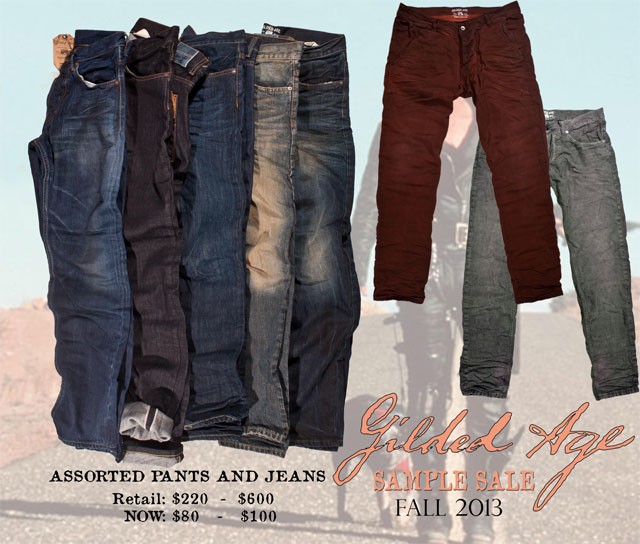 Buy Cheap Gilded Age Baxten Slim Fit Jeans (Blue Rust ...