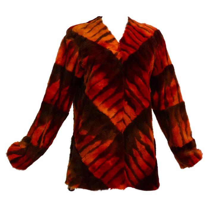 Giuliana Teso Chevron Pattern Pullover $4400