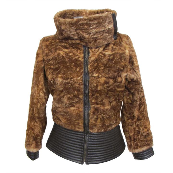 Giuliana Teso Chic Stenciled Sheared Fur $7100