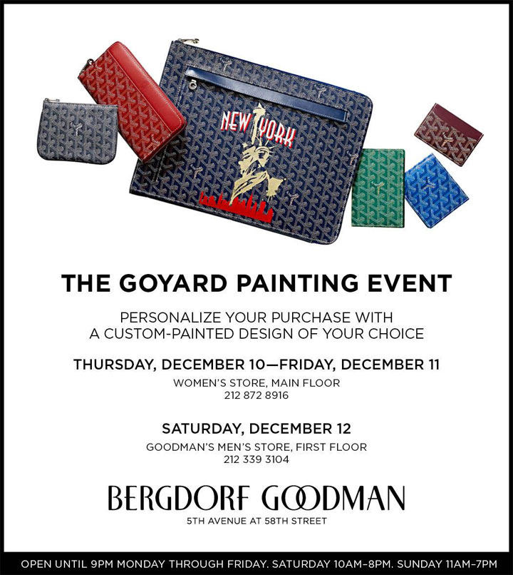 The Goyard Painting Event