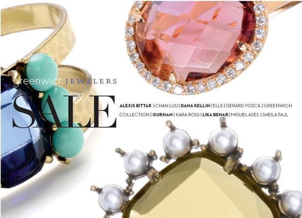 Greenwich Jewelers Bi-Annual Sale