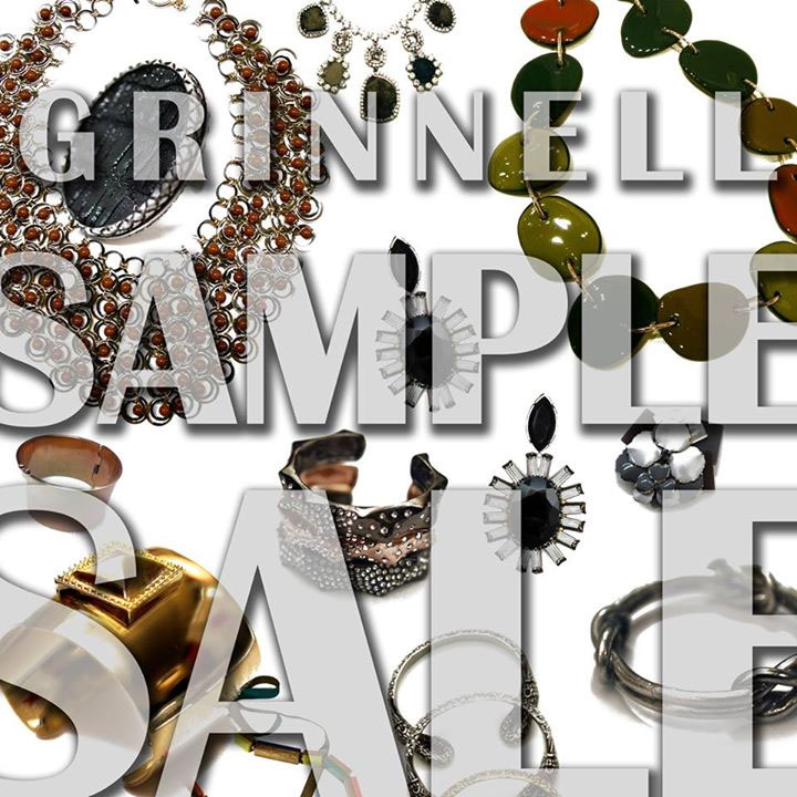 Grinnell Designs Sample Sale
