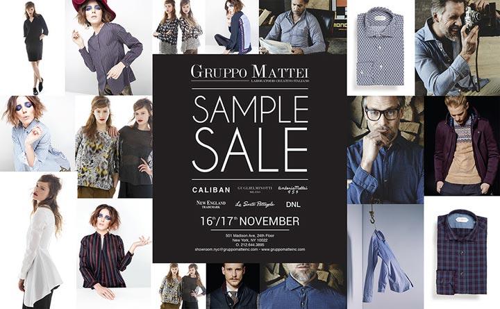 Gruppo Mattei Sample Sale