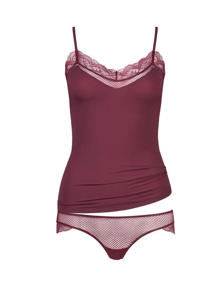 HANRO Eleonora Spaghetti Camisole and Bikini, Camisole was $132 now $30, Bikini was $48 now $15