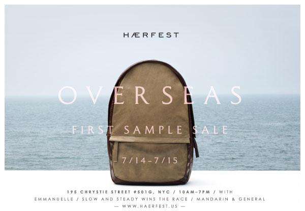 Haerfest Sample Sale