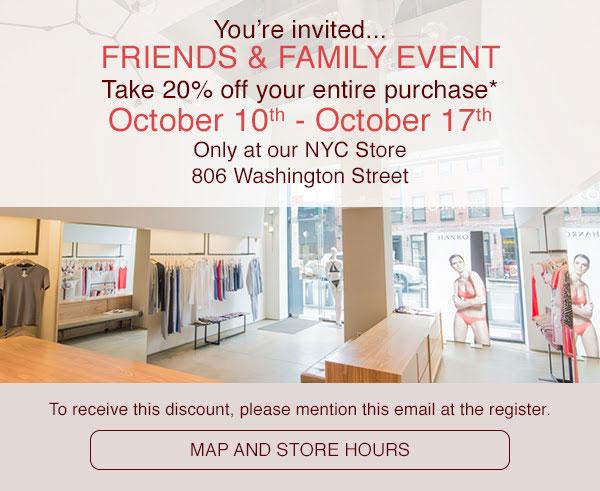 Hanro Friends & Family Sale