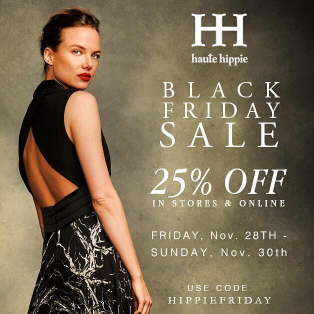 Haute Hippie Black Friday Sale