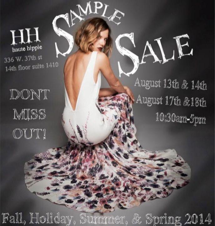 Haute Hippie Clothing & Accessories New York Sample Sale ...