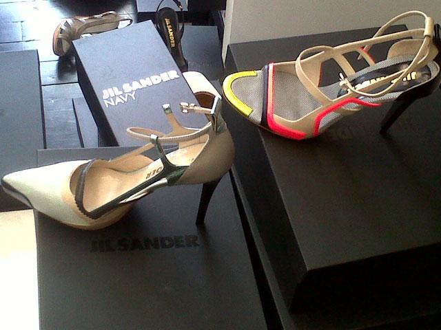 Boots, heels, flats, etc.; most averaging just $35 at Jil Sander Sample Sale