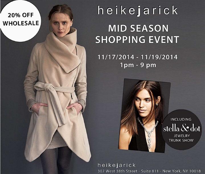 Heike Jarick Mid-Season Shopping Event