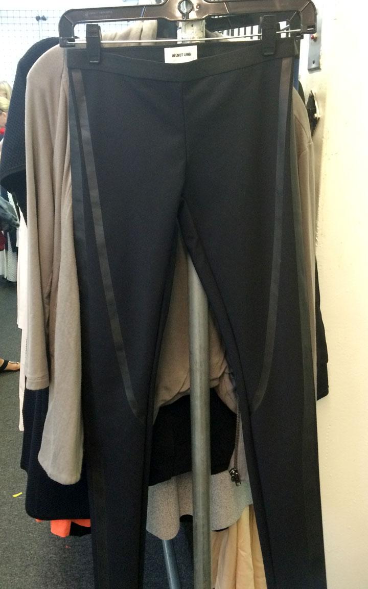 Helmut Lang leggings for $55