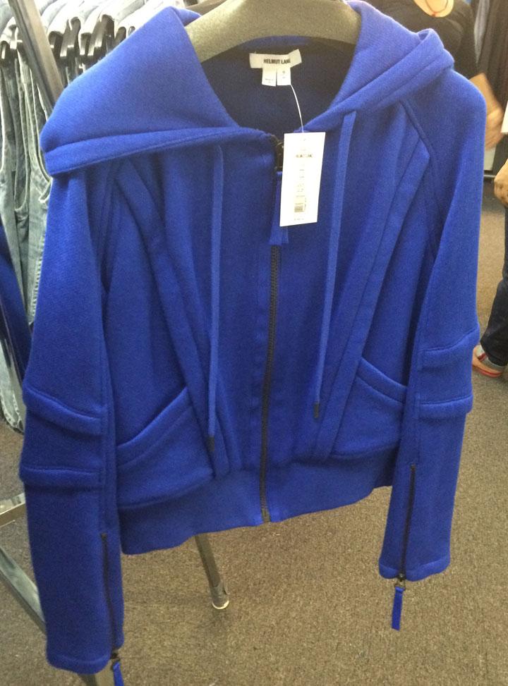 Helmut Lang sweatshirt for $90