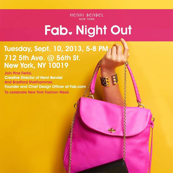 Henri Bendel's Fab Night Out