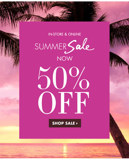 Henri Bendel Summer Retail Sale