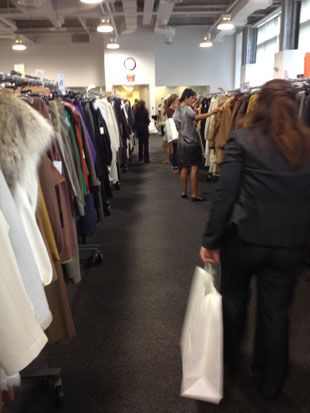no scarves no bags no jewelry at the hermes sample sale - Bcbg Sample Sale