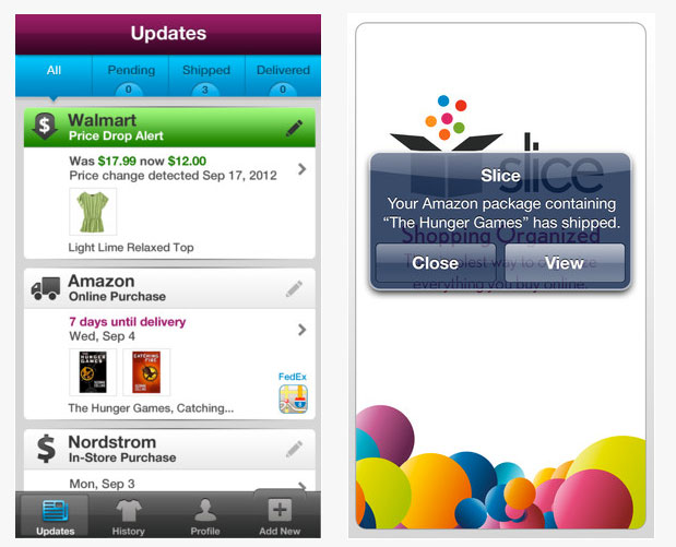 Use Holiday Shopping Apps - Slice Apps