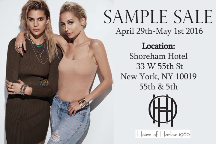 House of Harlow 1960 Sample Sale
