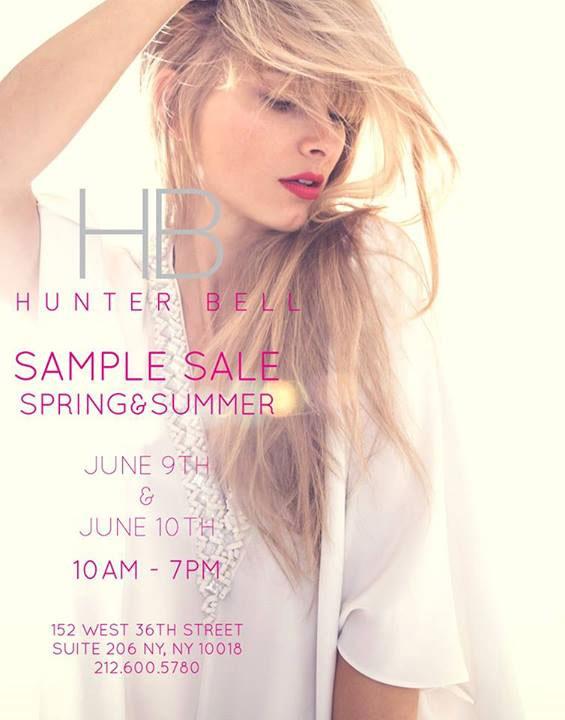 Hunter Bell Sample Sale