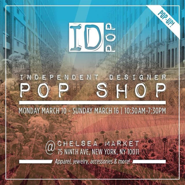 Independent Designer Pop Shop at Chelsea Market