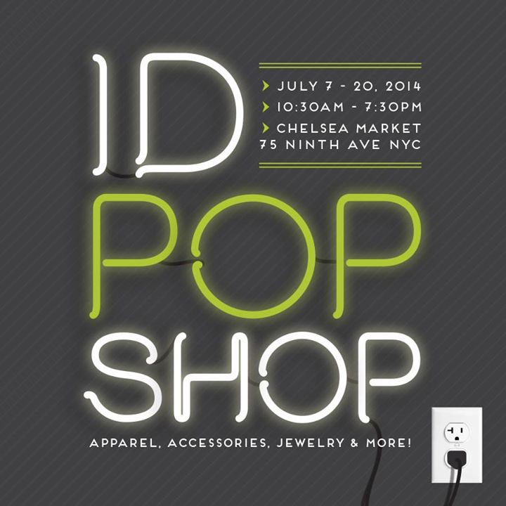 ID Pop Shop at Chelsea Market