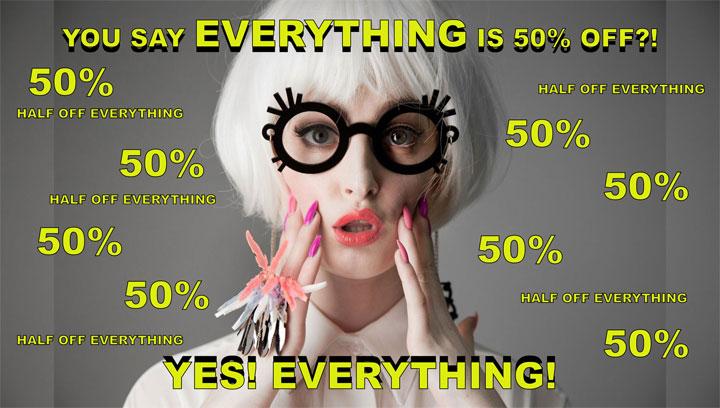 I Still Love You NYC 50% Off Storewide Online Sale