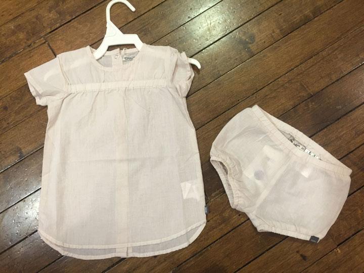 Imps & Efs baby clothing set: $20
