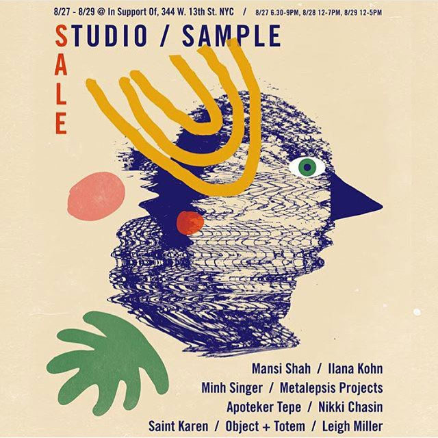 In Support Of Sample Sale
