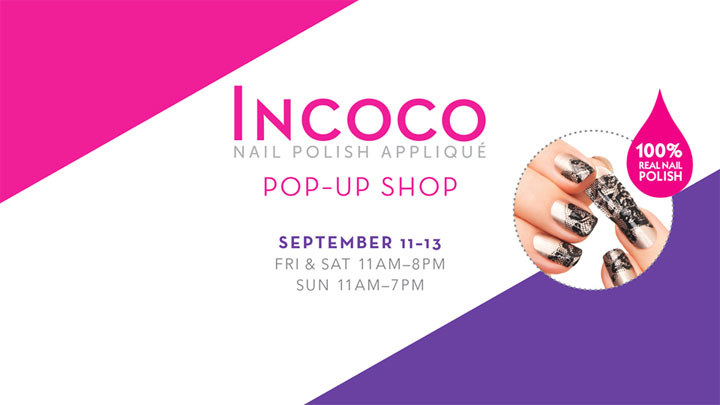 Incoco Pop-Up Shop