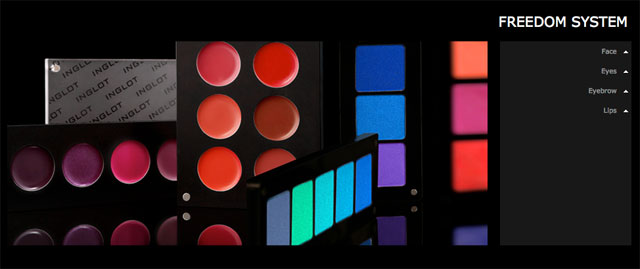 Inglot Cosmetics Freedom System Customized Palettes