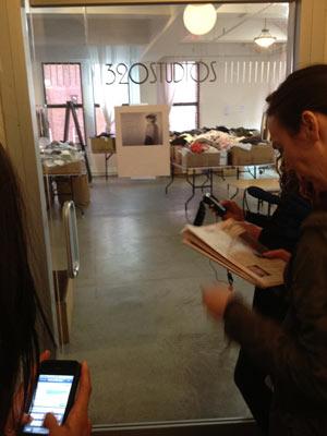 Inhabit Sample Sale at 320 Studios