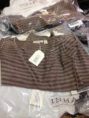 Inhabit Lavender Stripe ($50)