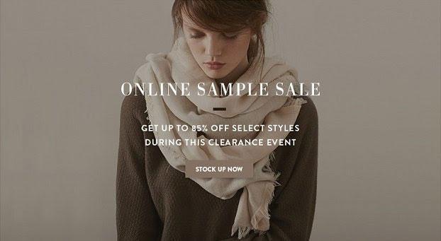 Inhabit NY Online Sample Sale