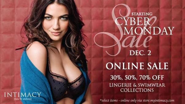 Intimacy Bra Fit Stylists Cyber Monday Sale