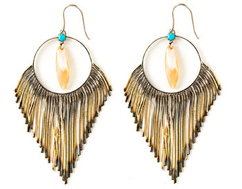 Iosselliani Earrings: $198 (orig. $335)