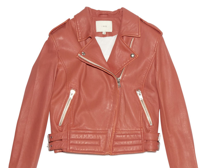 Iro moto jacket: $371 (orig. $1346)