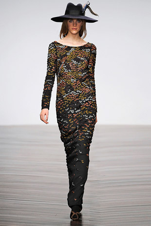 Issa London Sequin detail Gown: $938 (orig. $ 2345)