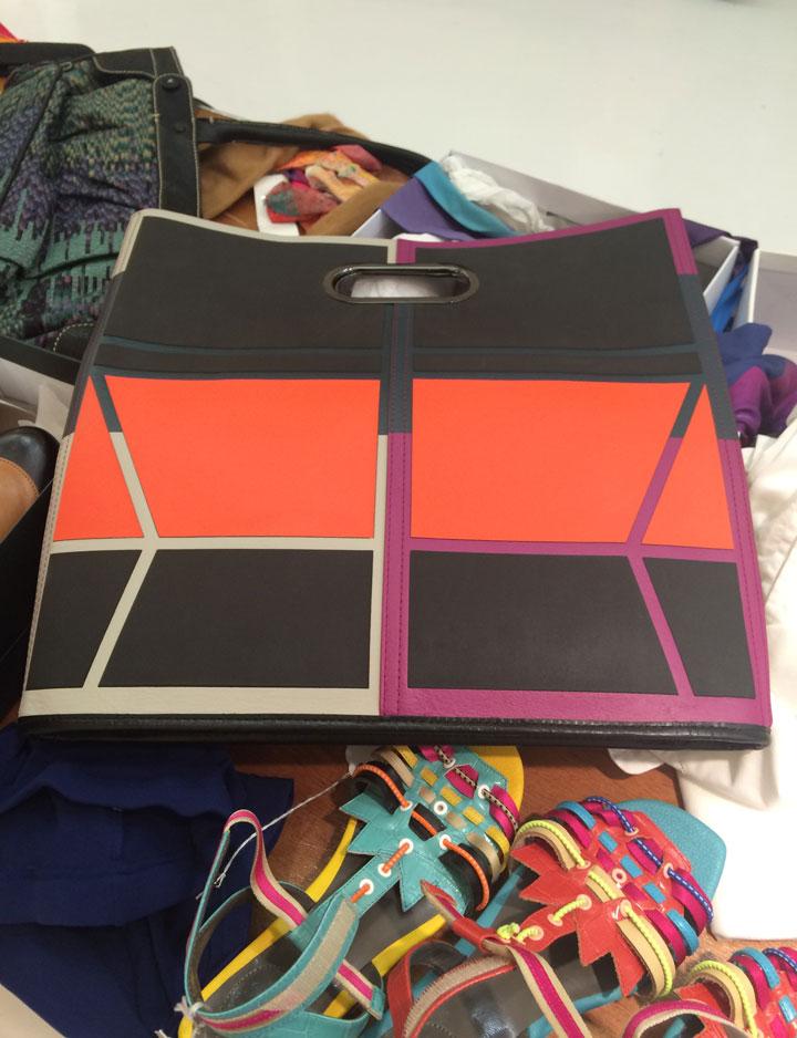 Issey Miyake Guston Bag for $283