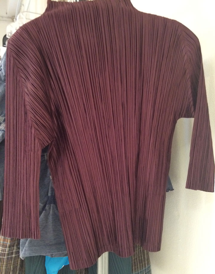 Issey Miyake Pleats Please Shirt for $71
