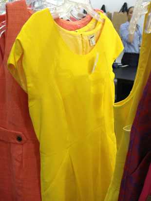 J.Crew Bumble Bee Yellow Party Dress ($60)