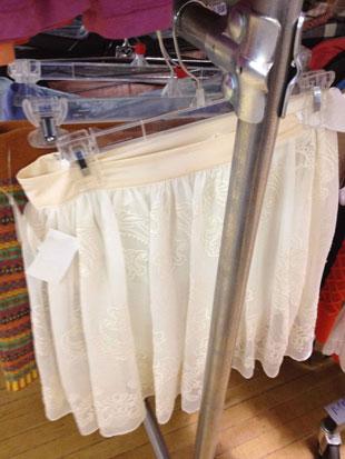 J.Crew Silk Mini Skirt ($40)