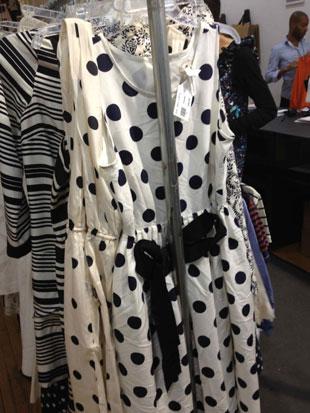 J.Crew Sleeveless Polka Dot Dress w/ Tie ($60)