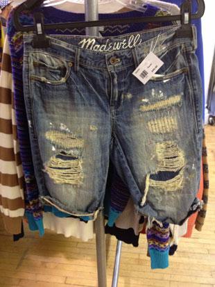 J.Crew Super Destroyed Boyfriend Shorts ($40)